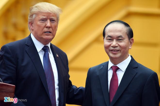 Tong thong Trump chuc Tet nguoi dan Viet Nam hinh anh