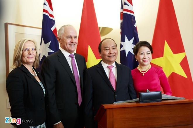 Australia ban 19 loat dai bac chao mung Thu tuong Nguyen Xuan Phuc hinh anh