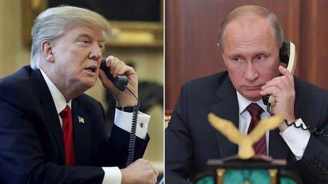 Trump gian du bao ve moi quan he voi ong Putin hinh anh 1