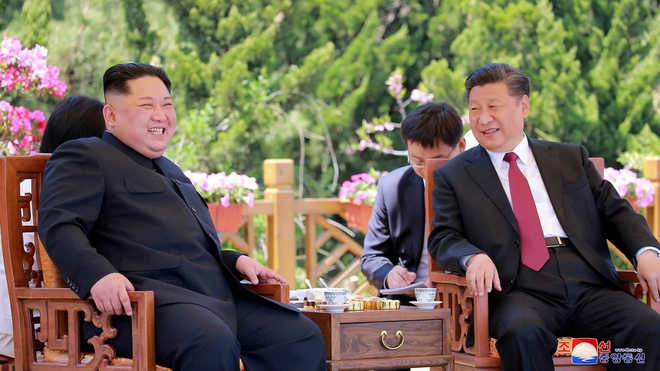 Trung Quoc 'giat day' hoi nghi Trump - Kim Jong Un? hinh anh