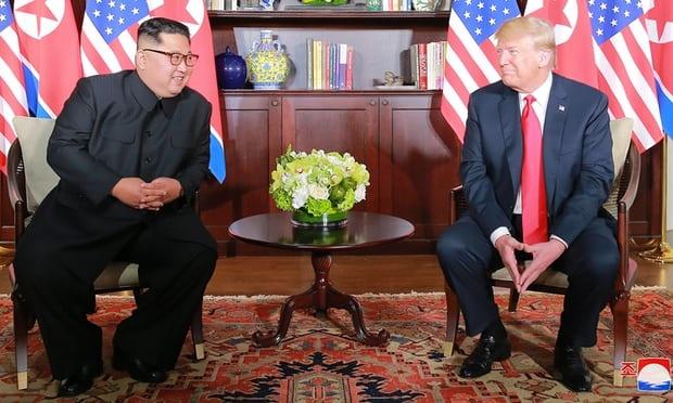 Kim Jong Un ra dieu kien voi Trump: Cham dut chong doi nhau hinh anh 1