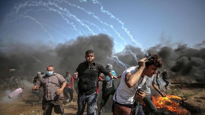 Phot lo My, 120 nuoc len an Israel vi bao luc o Gaza hinh anh