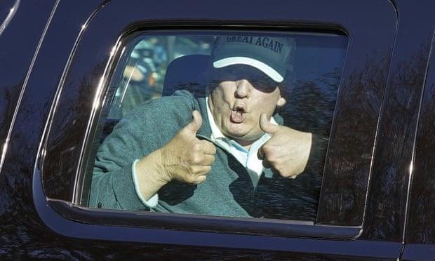 ong Trump xuat hien tren truyen thong anh 2