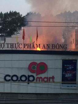 Chay Co.opmart, tieu thuong cho An Dong thao chay hinh anh 1