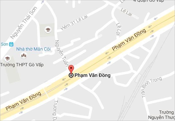 Xe tai boc khoi ngun ngut tren dai lo Pham Van Dong hinh anh 2