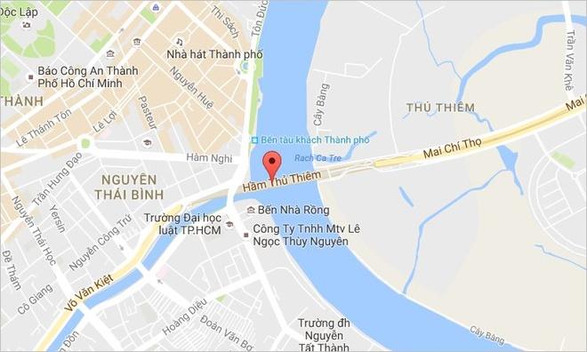 Dong ham Thu Thiem 2 gio de dien tap chua chay hinh anh 2
