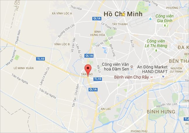 Dam vao duoi xe hut bui, 2 thanh nien tu vong hinh anh 2