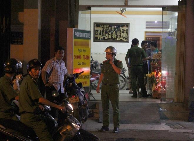 Nguoi phu nu tu vong bat thuong trong nha nghi o Sai Gon hinh anh 1