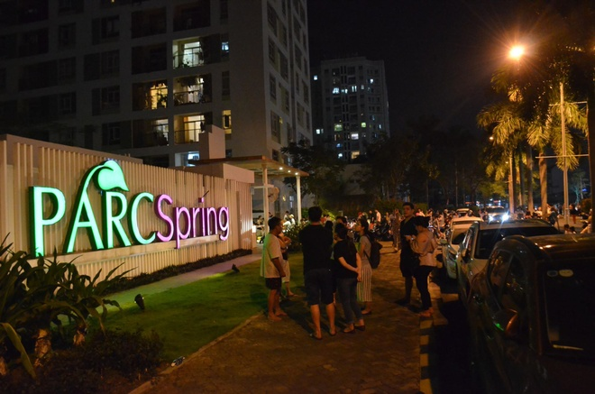 Chay tai chung cu Parc Spring o Sai Gon hinh anh 3