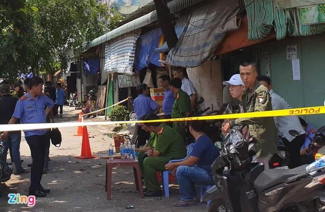 Thai phu va 2 cha con chet trong nha tro o Binh Duong hinh anh 1