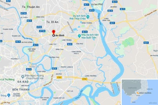 Thai phu va 2 cha con chet trong nha tro o Binh Duong hinh anh 3