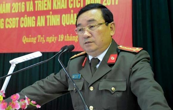 Bo Cong an gia han xac minh to cao Giam doc Cong an Quang Tri hinh anh 1