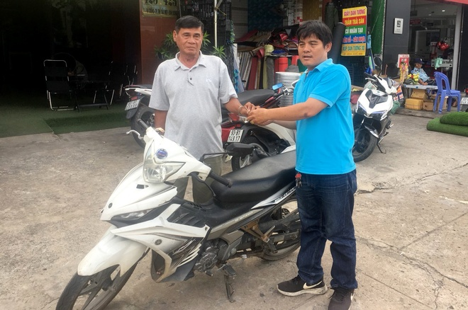 Hiep si Nguyen Thanh Hai tra chiec Exciter dung bat cuop hinh anh 1