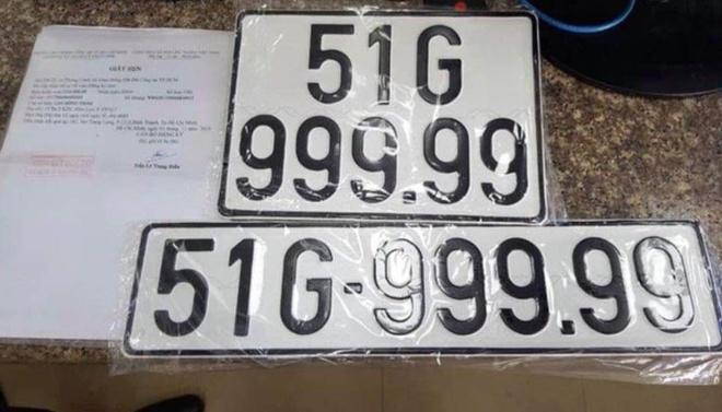 Chu xe BMW o TP.HCM boc duoc bien so 99999 hinh anh 1