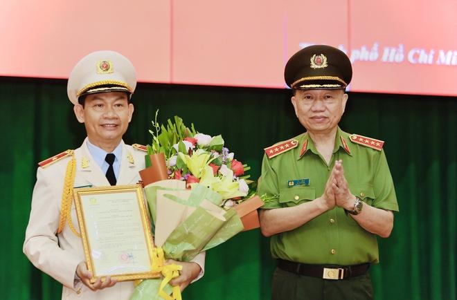 Pho Giam đốc Cong An Tp Hcm đinh Thanh Nhan được Thăng Ham Thiếu Tướng Phap Luật