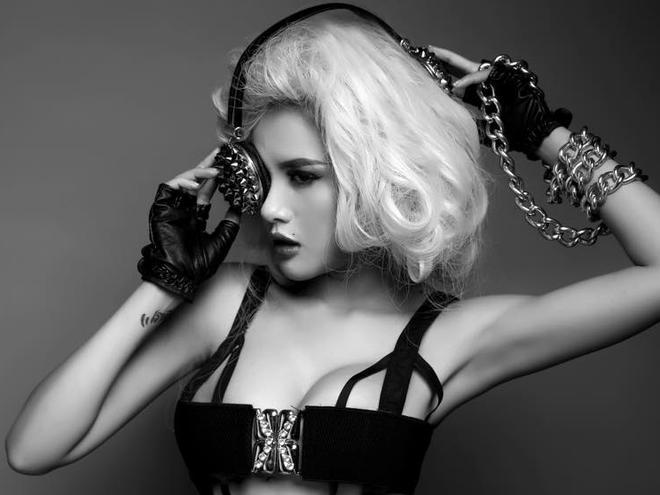 DJ Myno nong bong voi phong cach Madonna hinh anh