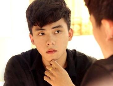 Hot boy Dai hoc Noi Vu dien trai nhu sao Han hut dan mang hinh anh