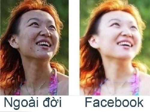 Trao luu khoe anh 'Facebook va doi thuc' hinh anh 6