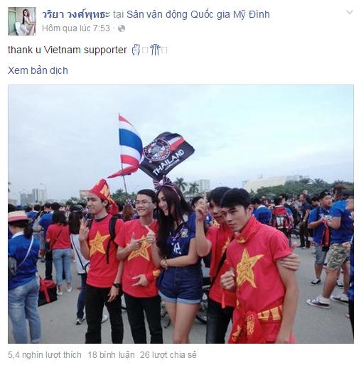 Nu co dong vien Thai tren san My Dinh bat ngo noi tieng hinh anh 2