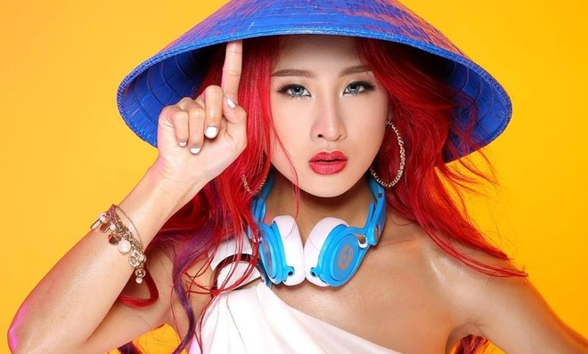 Oxy tham gia tranh tai tai cuoc thi 'Miss DJ the gioi 2015' hinh anh