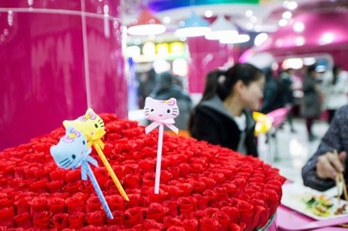 Cang-tin phong cach Hello Kitty tai Trung Quoc hinh anh 6