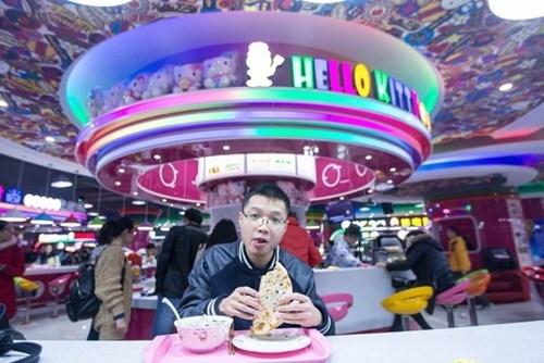 Cang-tin phong cach Hello Kitty tai Trung Quoc hinh anh 7