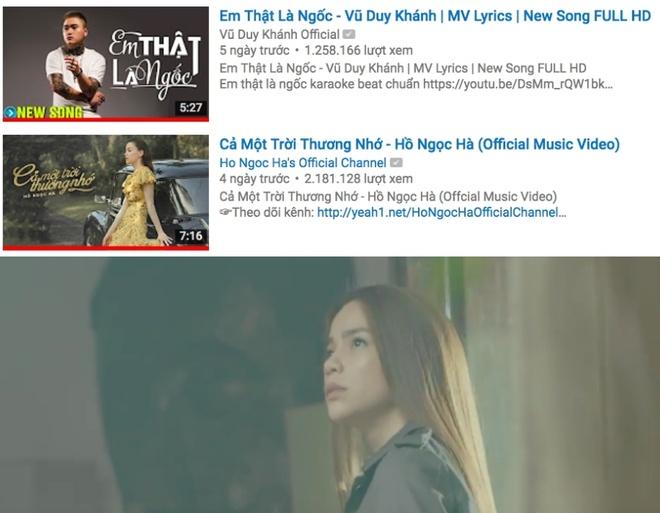 My Tam,  Ho Ngoc Ha,  MV ca nhac,  am nhac,  Vpop anh 2