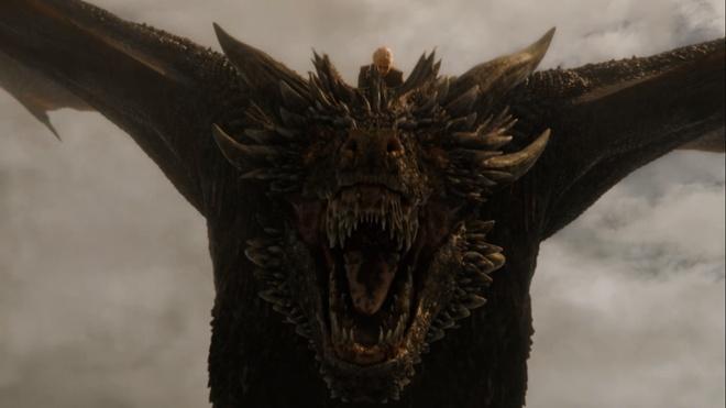 'Game of Thrones 7' tap 4: Rong Drogon xuat tran hinh anh