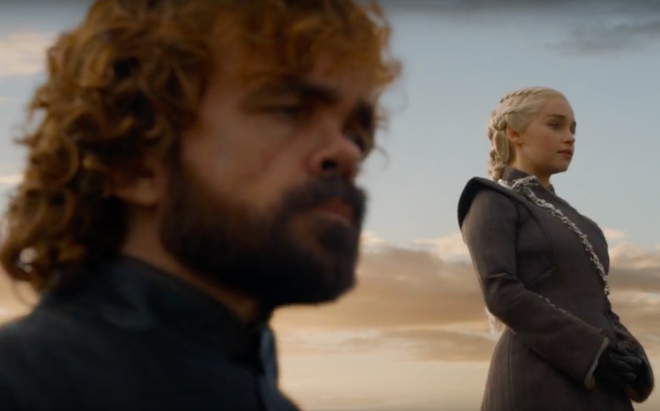 'Game of Thrones': Chang lun Tyrion Lannister tien thoai luong nan hinh anh