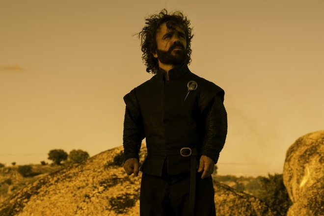 'Game of Thrones': Chang lun Tyrion Lannister tien thoai luong nan hinh anh 1