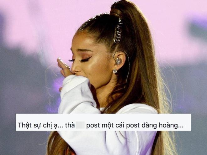 'Ariana Grande coi thuong fan Viet, dung den Viet Nam nua' hinh anh