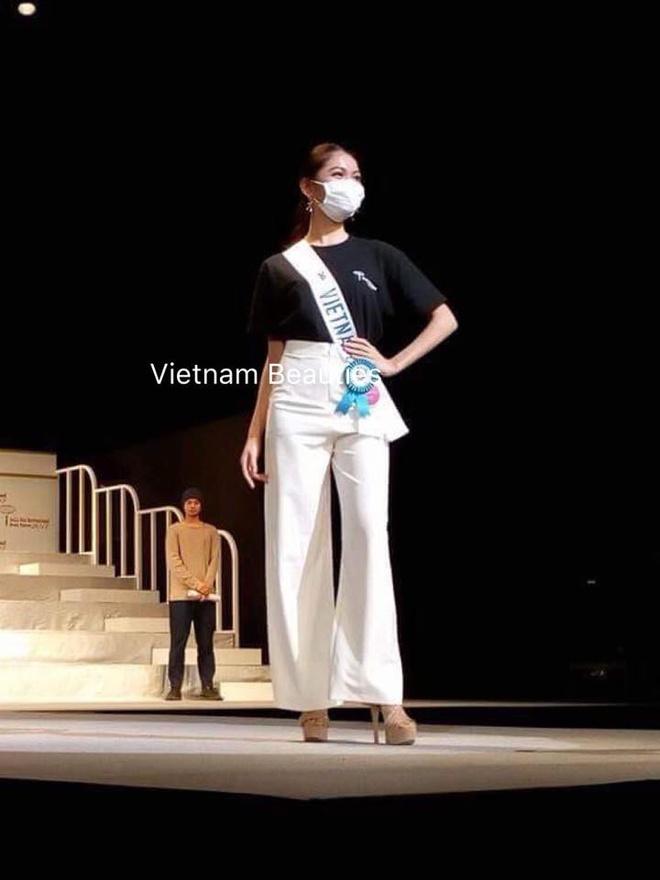A hau Thuy Dung lo mat bi thuy dau tai san bay ve Viet Nam hinh anh 6
