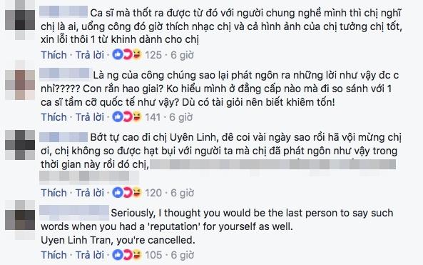 Uyen Linh bi chi trich vi goi Taylor Swift la 'con ran hao trai' hinh anh 2