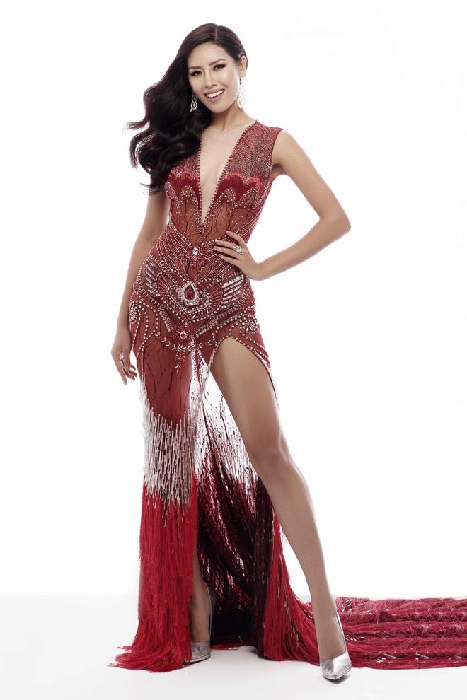 Nguyen Thi Loan: 'Toi se nang cao nhan sac Viet tai Miss Universe' hinh anh 2