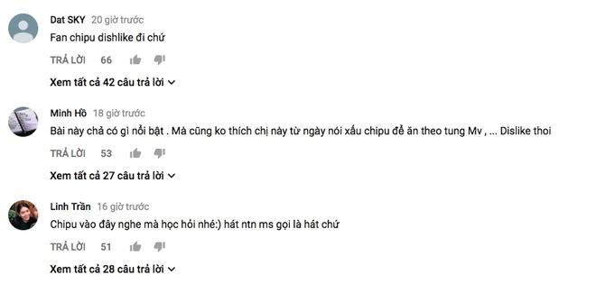MV vua ra mat cua Van Mai Huong bi fan Chi Pu 'dislike', to dua hoi hinh anh 3