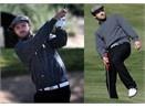 Justin Timberlake choi golf vi tre em hinh anh
