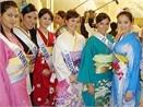 Thuy Duong duyen dang voi kimono hinh anh