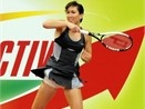 Jelena Jankovic quang cao do uong hinh anh