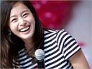 Kim Tae Hee co nu cuoi rang ro nhat hinh anh