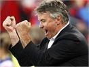 Hiddink 'len may' sau tran thang Arsenal hinh anh