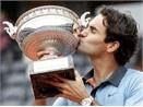 Federer lan dau vo dich Phap Mo rong hinh anh