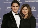 Federer don hai con gai song sinh hinh anh