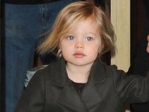 Jolie Pitt muon Shiloh lam dien vien hinh anh