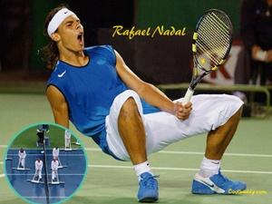 US Open hoan vi mua, Nadal 'giai sau' voi billards hinh anh