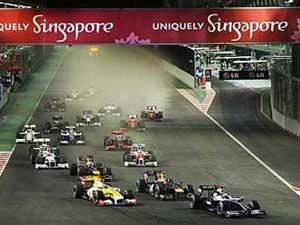 F1 Singapore - Hamilton can dich hoan hao hinh anh