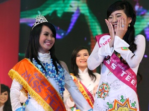 Phut dang quang cua Miss Teen Xuan Mai hinh anh