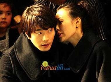 Vo chong Kwon Sang Woo tinh tu xem thoi trang hinh anh