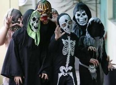 The gioi ron rang mung Halloween hinh anh