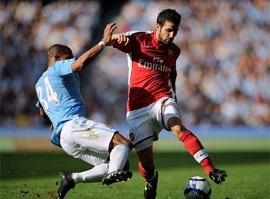 Arsenal 'dung' Man City o tu ket cup Lien doan hinh anh