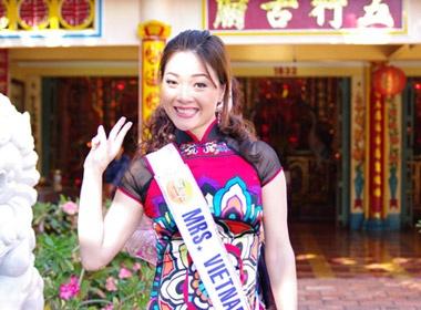 Mrs World 2009: Quy ba da nang hinh anh